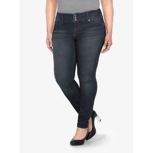 Torrid Dark Rinse Jegging Skinny Jeans Size 16